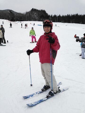 スキー1日目